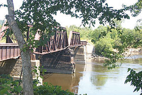 Sauk City Railroad Bridge